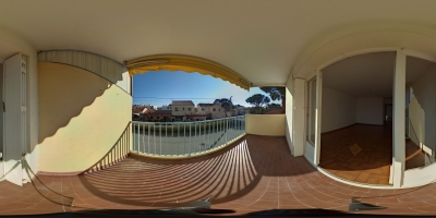 visite virtuelle appartement 2 pieces 59 m² location gmj immobilier saint raphael boulouris